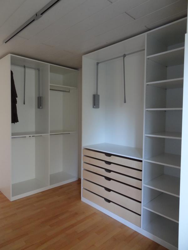 begehbarer kleiderschrank praktisch und vielseitig. Black Bedroom Furniture Sets. Home Design Ideas